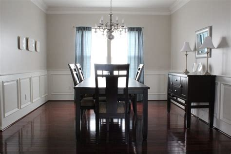 dining room with wainscoting furniture our home from scratch dining room