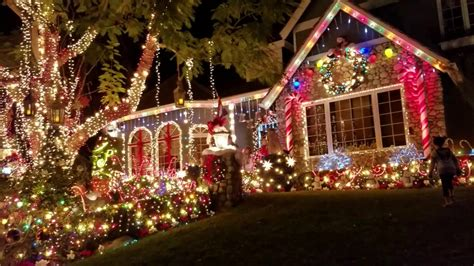 christmas decorations in a house in laguna niguel in