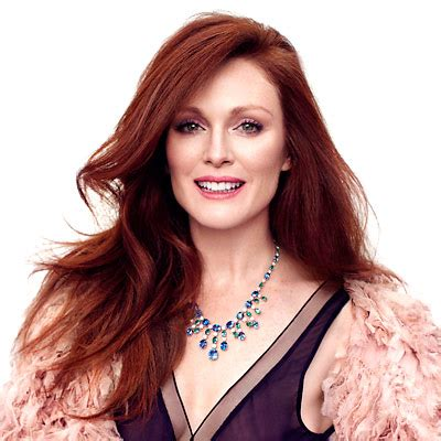 julienne moore natural hair colour cover hairstyles julianne moore instyle magazine and