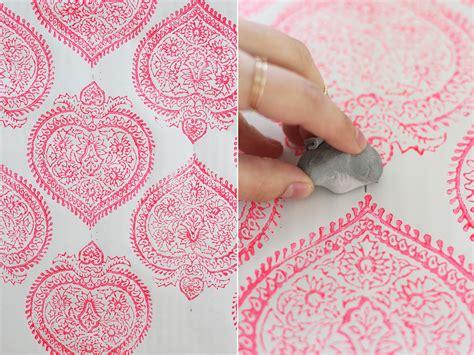 diy screen print india diy woodblock printing