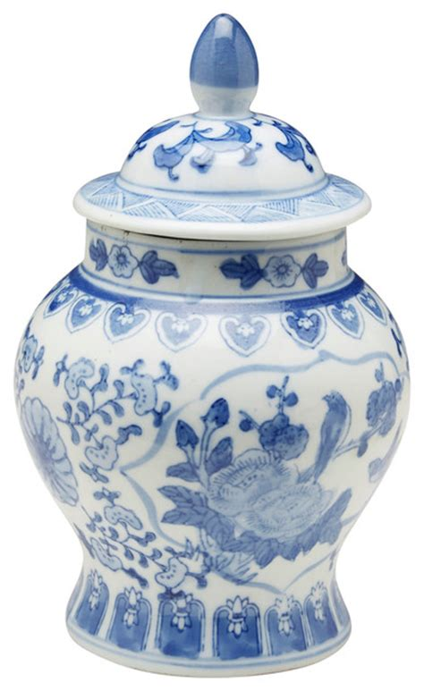 blue and white kitchen canisters orchard creek designs blue and white ginger jar kitchen