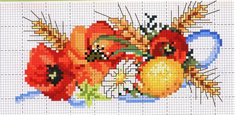 disegni a punto croce per cucina ricami e schemi a punto croce gratuiti grande raccolta di