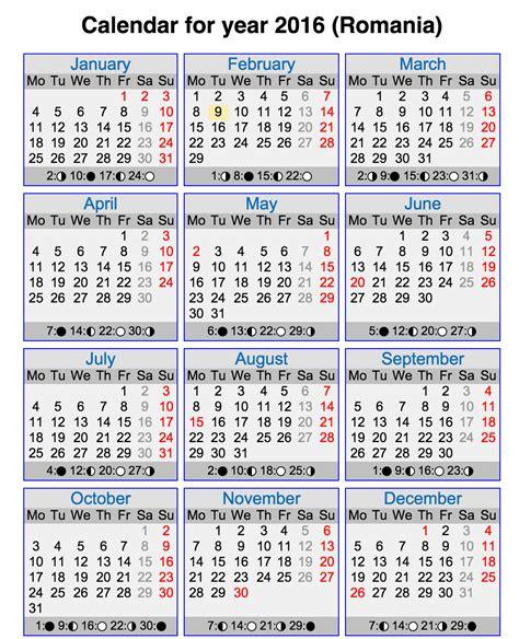 Calendar Lunar Calendar Lunar 2016