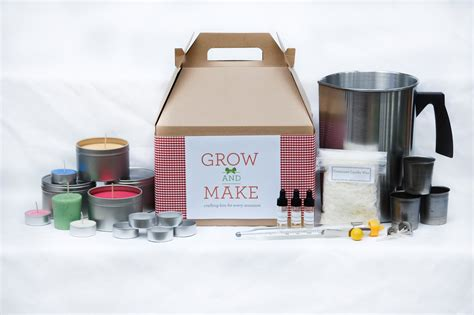 Soy Candle Kits Complete Soy Candle Kit Makes 68 Candles By Growandmake