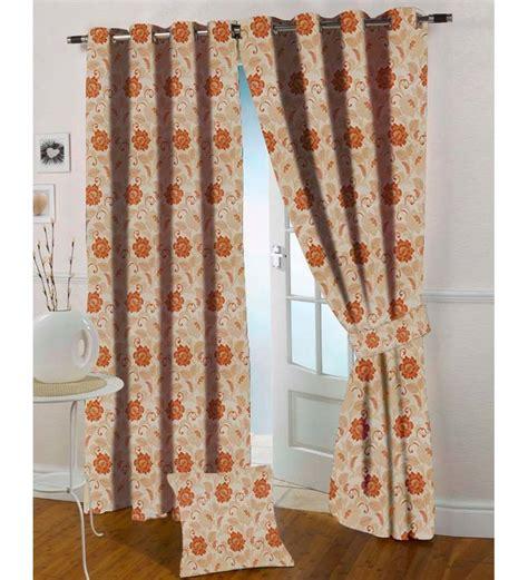 rust kitchen curtains presto rust flowers jacquard eyelet door curtain by presto
