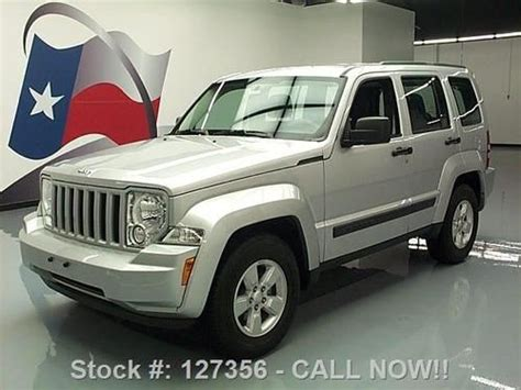 buy car manuals 2012 jeep liberty engine control sell used 2012 jeep liberty sport cruise control alloy wheels 35k texas direct auto in stafford