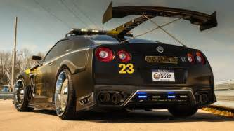 Nissan Gtr Pictures Nissan Gt R Pursuit 23 Brings Your Copzilla Nightmares To