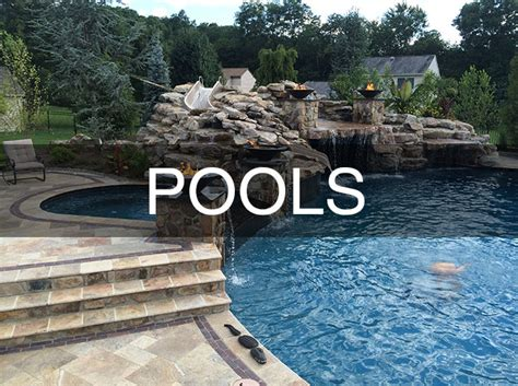 Hearth And Patio Ivyland Pa Custom Swimming Pool And Patio Builders In Doylestown