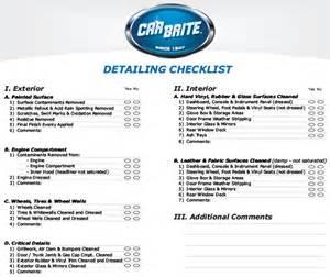 car wash checklist template car wash checklist template 28 images 28 best shop