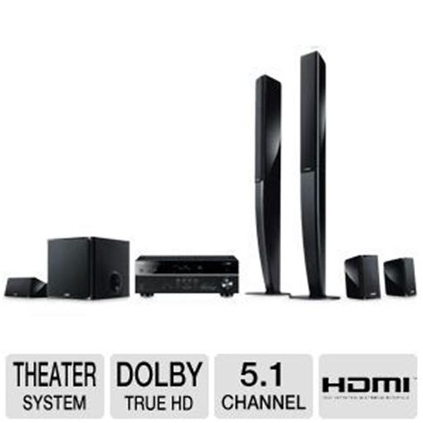 yamaha home theater system 5 1 channel dolby truehd