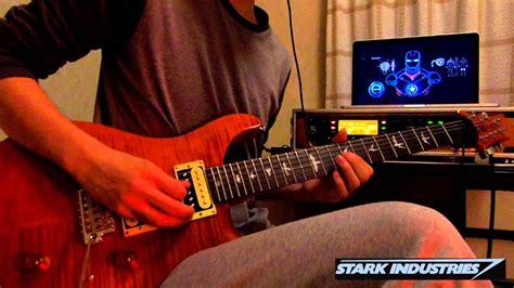 iron man dig main theme guitar cover