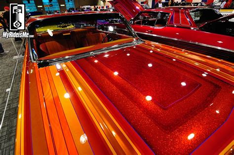 Upholstery Ri Flaked And Low Lowrider Custom Paint At 2014 Gnrs