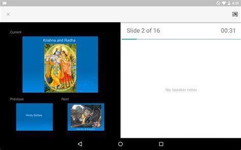 google presentaties update met chromecast ondersteuning apk
