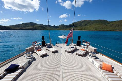 yacht view tiara luxury sailing charter yacht mediterranean and caribbean