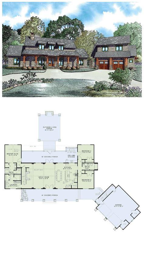shingle house plan chp 53449 at coolhouseplans com total