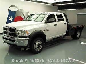 dodge ram 4500 crew diesel dually flatbed tow 2014