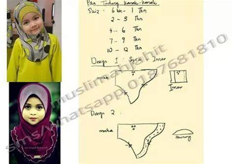 tutorial jahit jilbab 1000 images about pola tudung on pinterest bags sewing