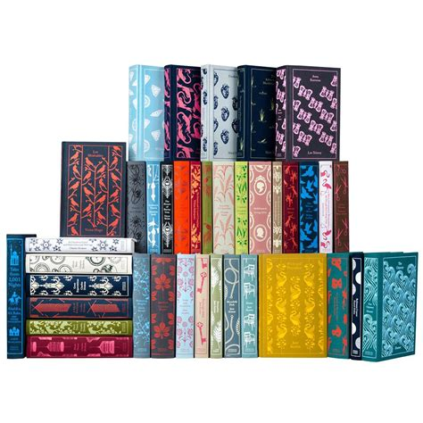 emma penguin clothbound classics penguin classics set of 40 gorgeous books penguin classics penguins and display
