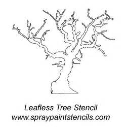 stencil of a tree outline cliparts co