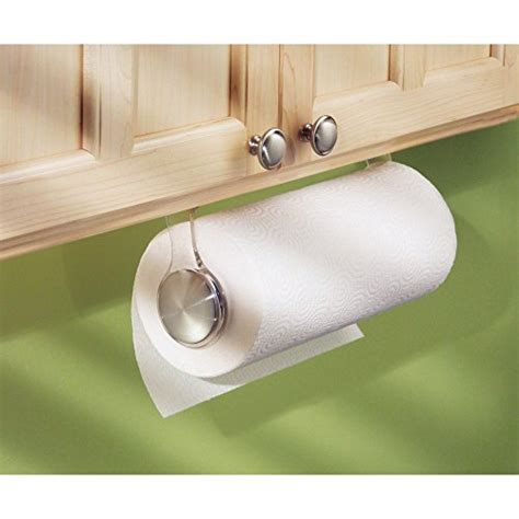interdesign forma paper towel holder for kitchen wall
