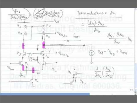 analog integrated circuit design by prof nagendra krishnapura sir analog integrated circuit design by prof nagendra krishnapura sir 28 images lecture 46