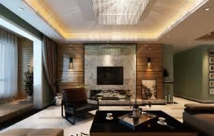 Modern living room tv wall lighting ideas 3d modern living