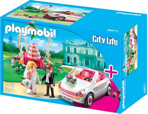 hochzeit playmobil playmobil set 6871 wedding tent with car klickypedia