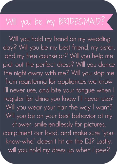 how to your to be will you be my bridesmaid letter lip gloss and high