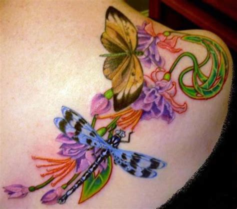 butterfly dragonfly tattoo designs dragonflies and butterflies tattoos www imgkid the
