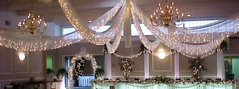 Decorate Ceiling With Fabric by Ceiling Decorations Arvay Event Design Rental