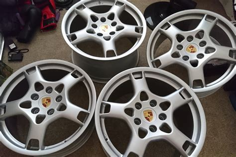 "19"" Porsche lobster claw wheels for sale by Karl hill"