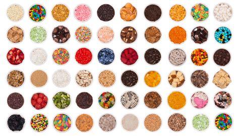 frozen yogurt toppings bar yogurt toppings the best yogurt of 2017