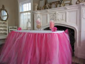 custom tulle tutu table skirt pinks by pinksugartutus on etsy