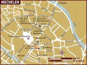 of maps map of mechelen