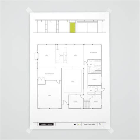 eichler atrium floor plan e 111 atrium model eichler anshen allen floorplan