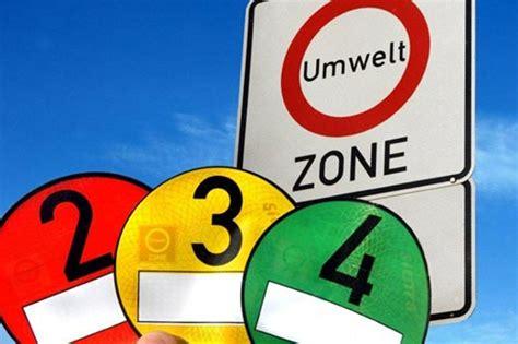Umweltplakette Auto by Chaos Zwei L 228 Nder Neun Umweltplaketten Sek News
