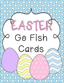 blank go fish card template free easter go fish card printables teachers pay