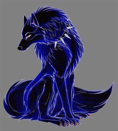 Galaxy Animal Collar Pin best 125 anime wolf images on other