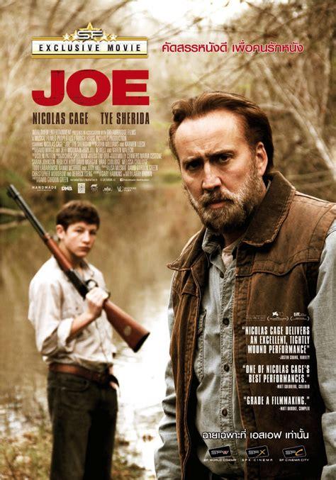 joe 2013 the return of nicolas cage 4k ultra hd joe 3 of 3 extra large movie poster image imp awards