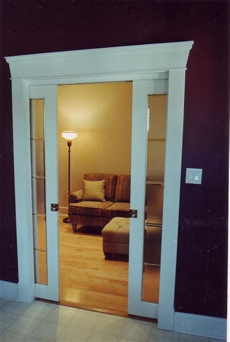 How Install A Door Frame by How To Install A Pocket Doors Home Constructions