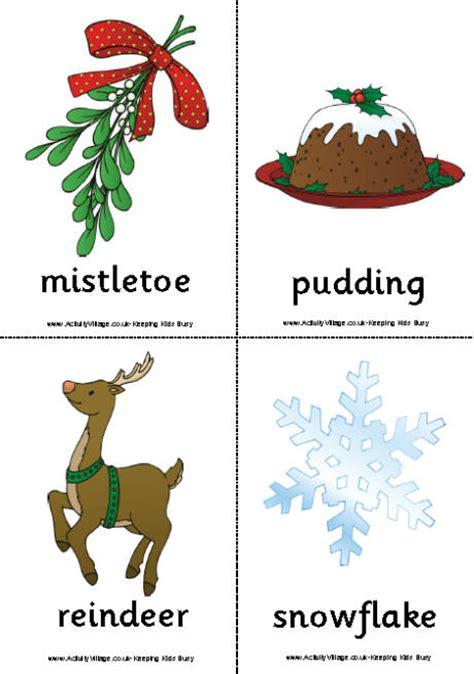 printable christmas flashcards small christmas flashcards colour