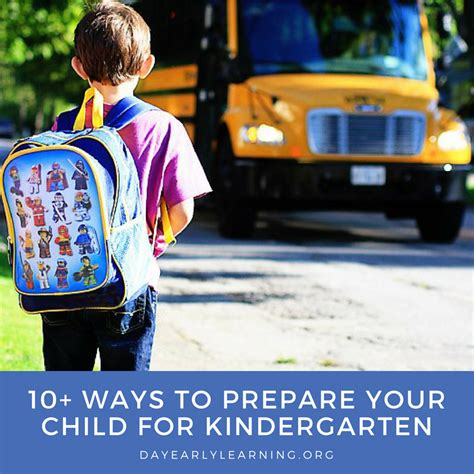 10 Ways To Prepare For A Baby by 10 Ways To Prepare Your Child For Kindergarten Day