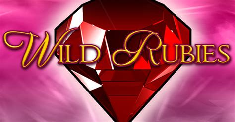 wild rubies slot machine gioco gratis  bonus