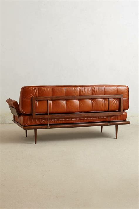 anthropologie leather couch 17 best images about furniture design on pinterest mid