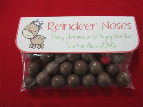 reindeer noses using maltesers and jaffas a cute little