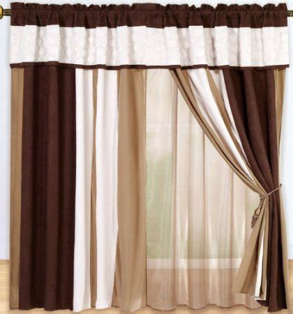 brown curtains with circles buy chezmoi collection micro suede circle patchwork window