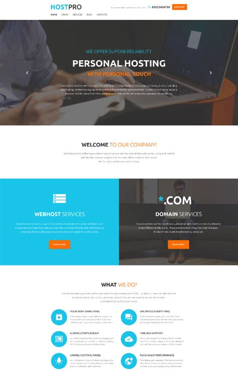 html parallax themes 20 best parallax html5 templates free premium themes