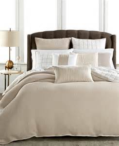 hotel collection waffle weave duvet covers only at macy s