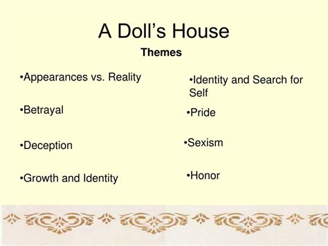 themes in the doll s house katherine mansfield ppt a doll s house powerpoint presentation id 162898
