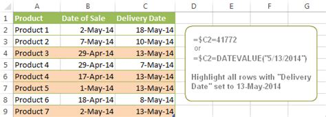 format excel cells based on date excel 2010 formula to change cell color based on date